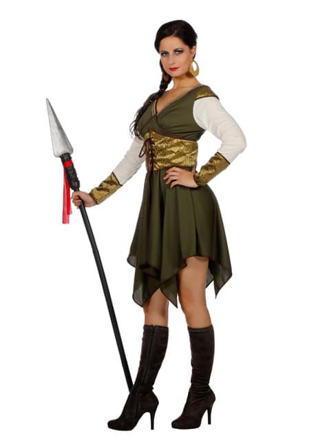 Disfraz de guardián del castillo para mujer - mujer