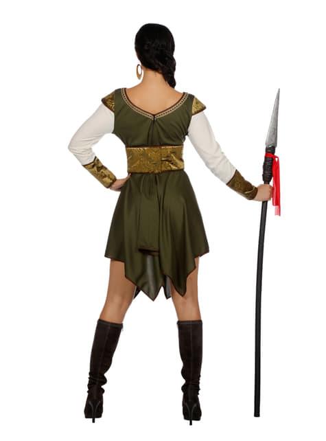 Disfraz de guardián del castillo para mujer - original
