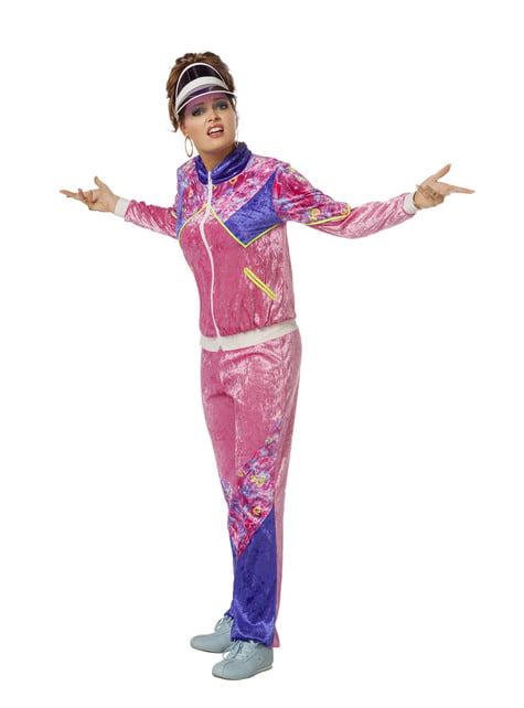 Kostium w stylu lat 80. dla kobiet