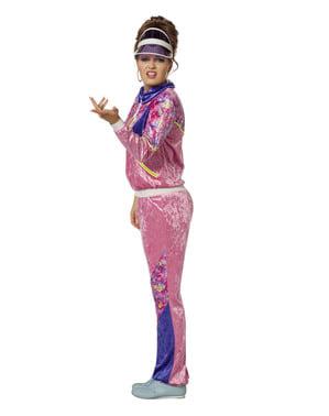 80er Jahre Kostüm für Damen
