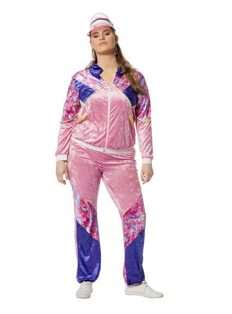 Disfraz de los 80's para mujer - traje