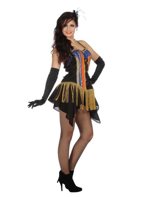 Disfraz de bailarina de cabaret de los años 20 para mujer - mujer