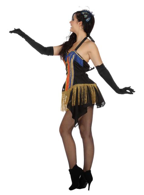 Disfraz de bailarina de cabaret de los años 20 para mujer - original