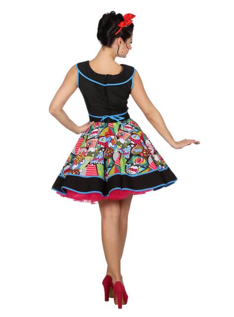 Disfraz de Pop Art elegante para mujer - Halloween