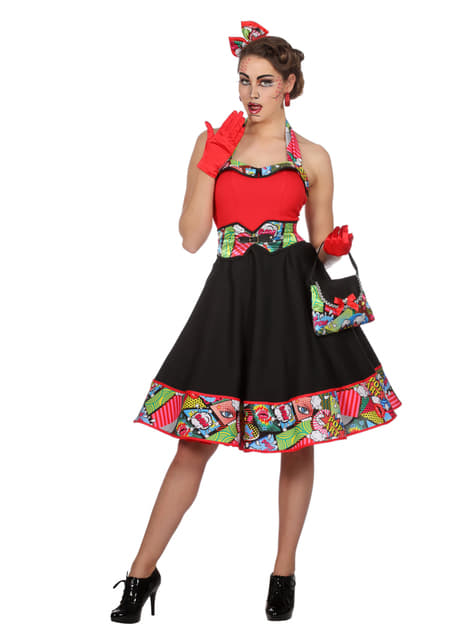 Disfraz de Jenny Pop Art para mujer - mujer