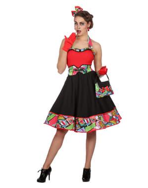 Vestito Pop Art per donna