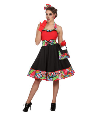 Sukienka Pop Art dla kobiet