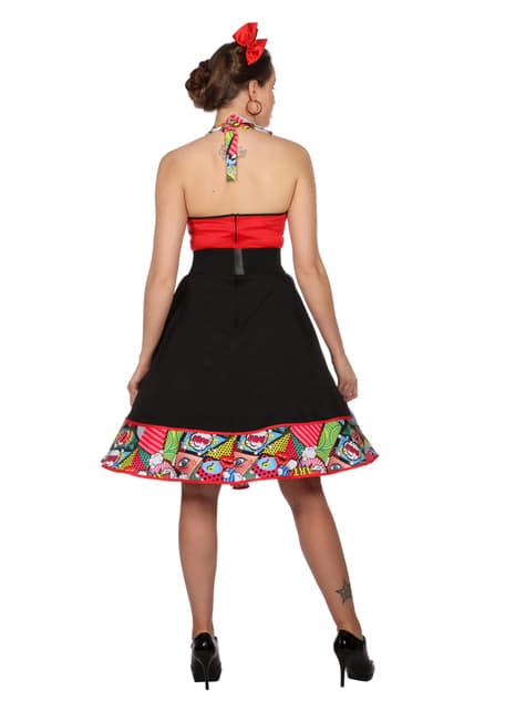 Disfraz de Jenny Pop Art para mujer - original