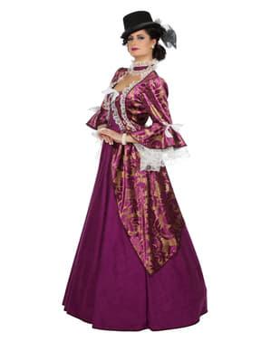 Viktoriansk Dame Kostume