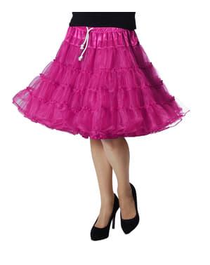 Unterrock rosa deluxe für Damen