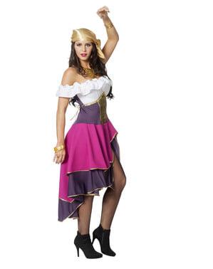 Kostým cikánky pro ženy