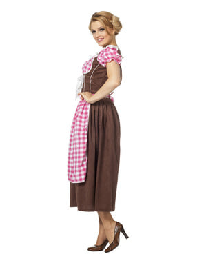 Disfraz de Oktoberfest rosa para mujer