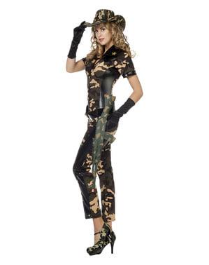 Costum de militar pentru femeie