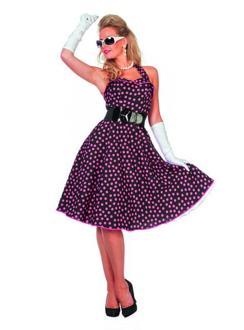 50's costume for women