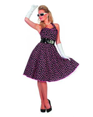 50'li kadınlar için kostüm