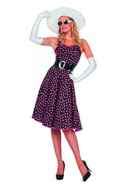 Disfraz de los 50's para mujer