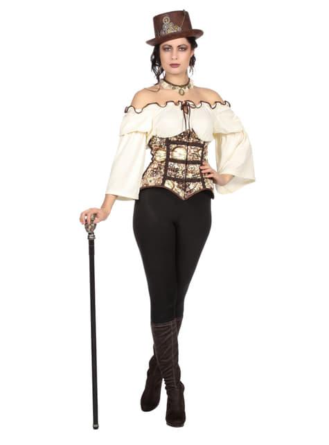 Disfraz de steampunk para mujer - mujer