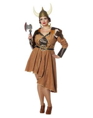 Wikingerin Kostüm für Damen