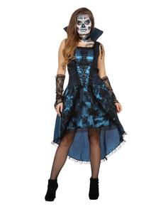 Maskeraddräkt vampyr blå för henne ... a6db7ff3421d6