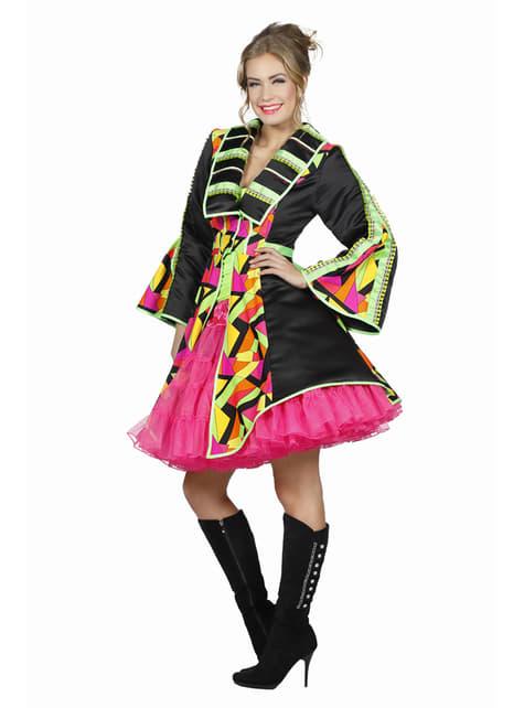 Abrigo de domador colorido para mujer - mujer
