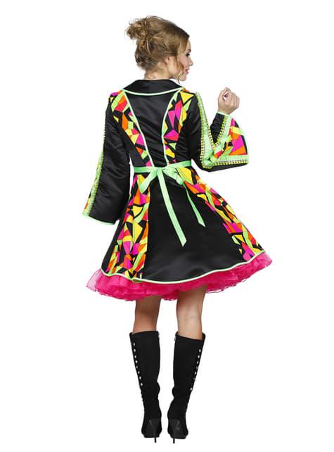 Abrigo de domador colorido para mujer