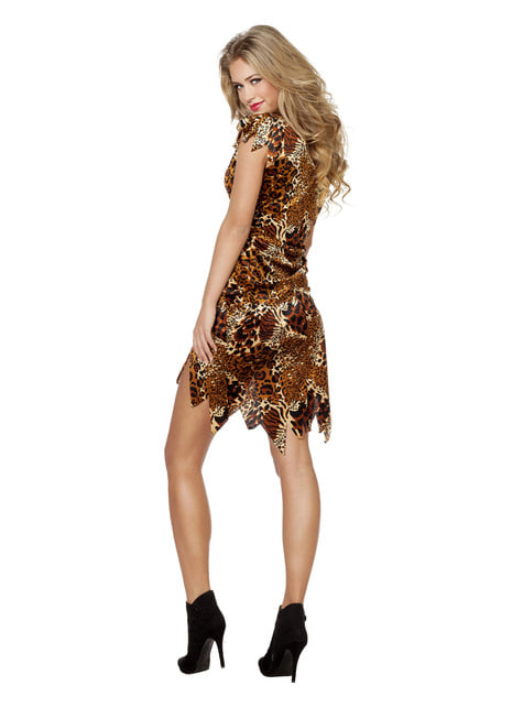 African cavewoman costume for women