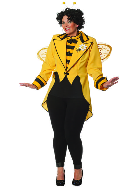 Bijenkoningin jas voor dames