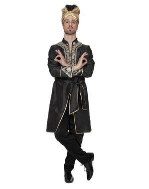 Sort indisk ridder kostume til mænd