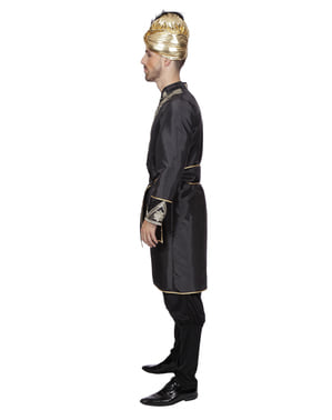 Svart Indianer ridder kostyme til menn