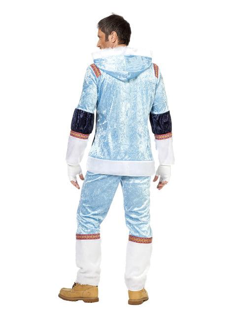 Disfraz de esquimal azul para hombre - hombre