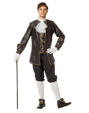 Pánský kostým markýz černý
