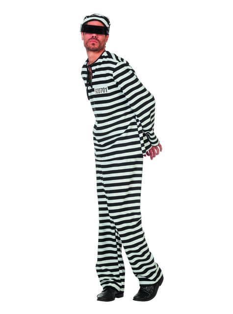 Kostium więźnia dla mężczyzn