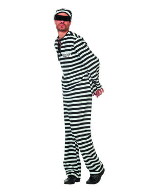 Costume da Detenuto per uomo
