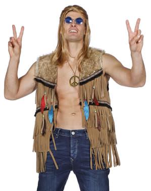 Colete de índio para homem