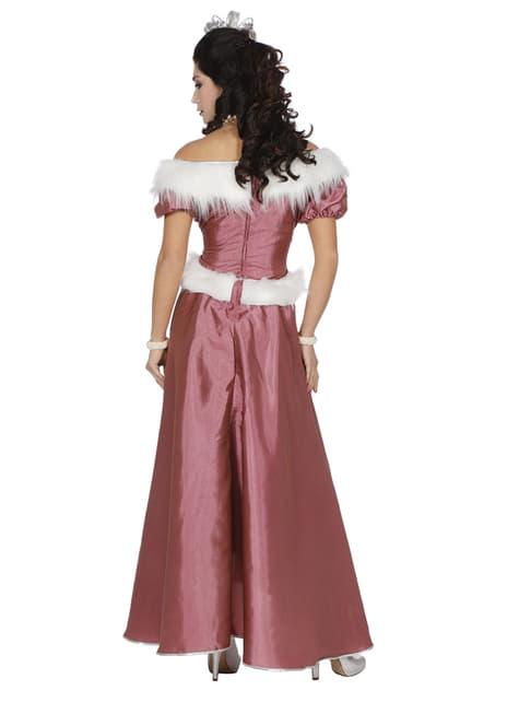 Pink Ice Queen costume for women