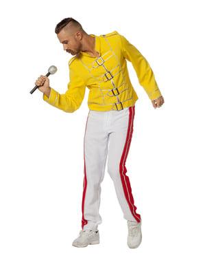 Rumeni kostum Freddy Mercury za moške