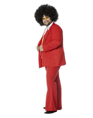 Red Saturday Night Fever costume for men