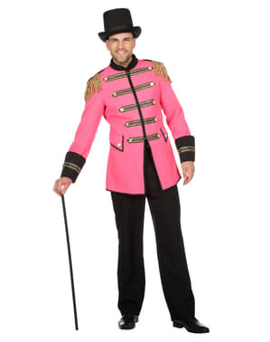 Różowy kostium poskramiacza dla mężczyzn