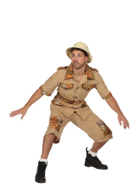 Disfraz de Safari beige para hombre - hombre