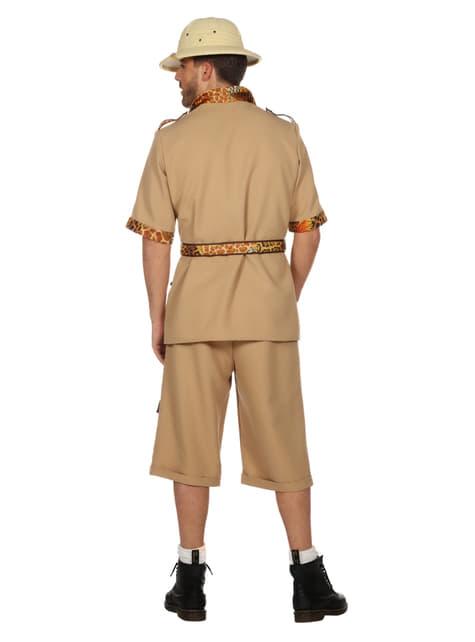 Disfraz de Safari beige para hombre - original