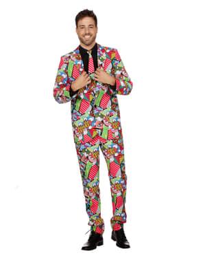 Pop Art pak voor mannen