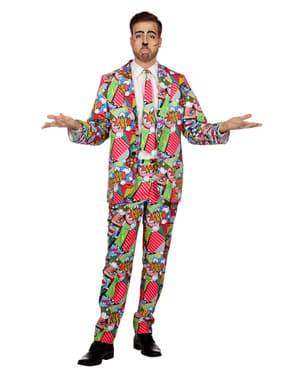 Pánský oblek pop art