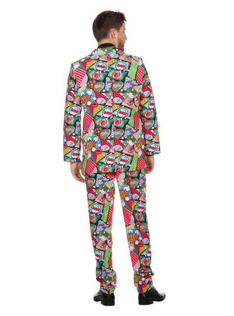 Pop Art jakkesæt til mænd