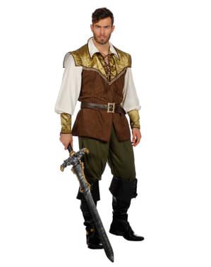 Middeleeuwse Sir kostuum voor mannen