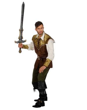Middelalder Sir kostyme til menn