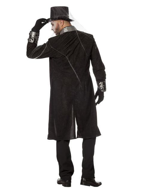 Disfraz de caballero gris para hombre - original