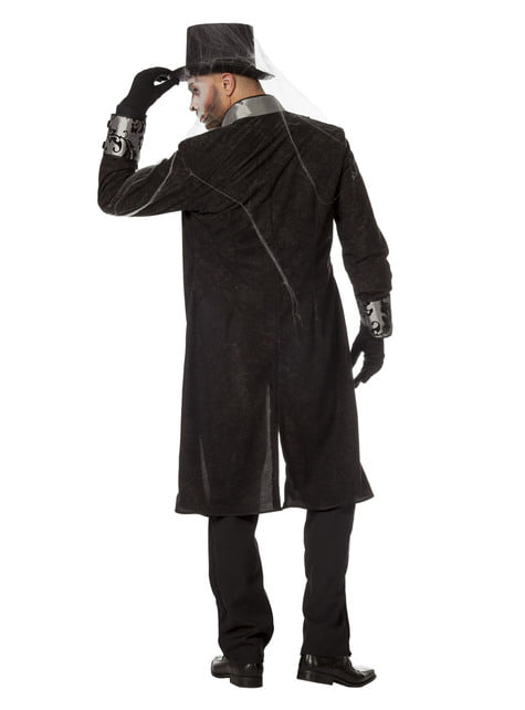 Grey knight costume for men