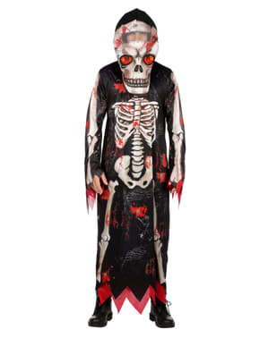 Strój szkieletu-żniwiarza dla mężczyzn