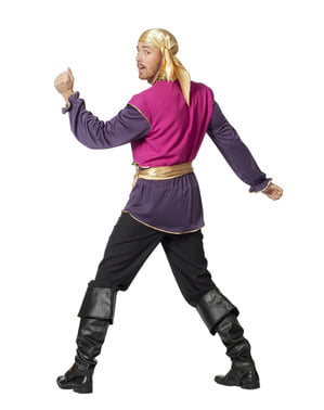 Zigeuner Kostüm lila für Herren
