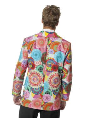 Colete hippie para homem